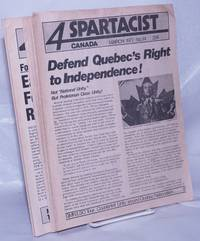 image of Spartacist Canada. 1977-81 [10 issues]