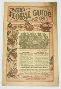 [TRADE CATALOG] Park's Floral Guide for 1911 Superb New Ivy Geraniums