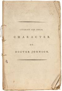 A poetical review of the literary and moral character of the late Samuel Johnson, L.L.D. : with...