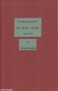 A Bibliography of Henry Miller 1945-1961