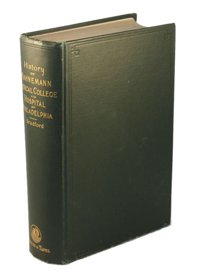 Philadelphia: Boericke & Tafel, 1898. First Edition. Hardcover. Near fine. 8vo, xvii, 903 pp, with i...