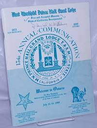 image of Most Worshipful Prince Hall Grand Lodge 134th Annual Communication: Welcome to Ontario, July 14-19, 1989