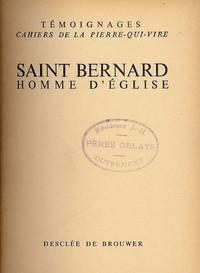 SAINT BERNARD HOMME D'EGLISE