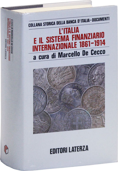 : Editori Laterza, 1990. First Edition. Hardcover. Thick octavo (ca. 21cm.); publisher's cloth in pi...