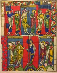 image of Calques des vitraux peints de la cathedrale du Mans. Ouvrage renfermant les calques ou les reductions, d'apres les calques, des verrieres de cette cathedrale les plus interessantes sous le rapport de l'art et de l'histoire