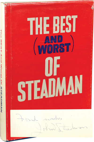 Baltimore, MD: Press Box Publishers, 1974. First Edition. First Edition. SIGNED by the author on the...