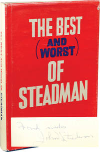 image of The Best and Worst of Steadman: A Collection of Stories by the Sports Editor of The Baltimore News American (Signed First Edition)