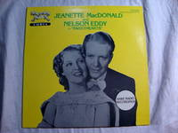 Nelson Eddy; Jeanette MacDonald in Sweethearts, Radio Recordings Vinyl