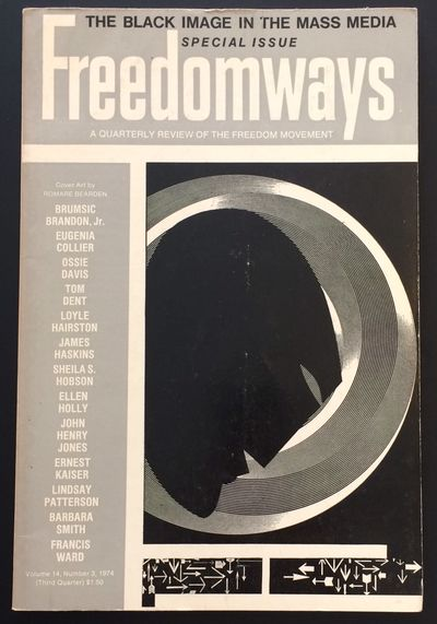 New York: Freedomways Associates, 1974. Single issue of the paperback journal, pp. 180-288, light sh...