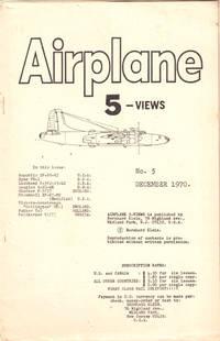 Airplane 5 Views Number Five December, 1970