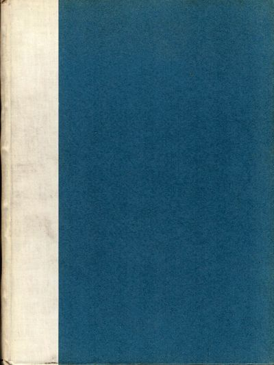 London: Reproduced By The Autotype Company, 1912. First edition. Hardcover. Gilt lettered vellum spi...