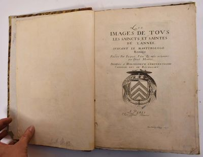 Paris: Chez Israel Henriet, 1636. Leather bound. VG-, some light soiling to sheets especially edges,...
