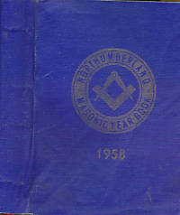 The Masonic Year Book for the Province of Northumberland. 1958