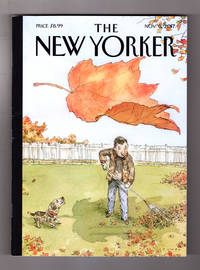 "image of The New Yorker - November 6, 2017. John Cuneo Cover, ""A Rake's Progress"". Fantastic Beasts and How to Rank Them; Exercis Pill; Tulsi Gabbard; Kurdish Fighters; NFL Protest Forms (Humor); Kahlil Joseph; Claes Oldenburg; Eataly; Suburbicon; Morgan Library & Museum"