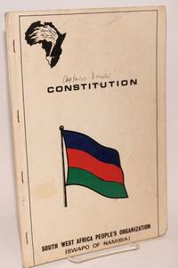 image of Constitution. South West Africa People's Organization (SWAPO of Namibia)