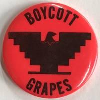 Boycott Grapes [pinback button]