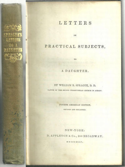 Image for LETTERS ON PRACTICAL SUBJECTS TO A DAUGHTER