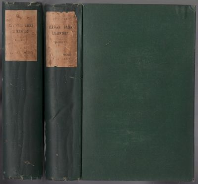 London: Longmans, Green, and co, 1880. Hardcover. Very Good. Reprint. 525pp.; 458pp, pp. Green cloth...