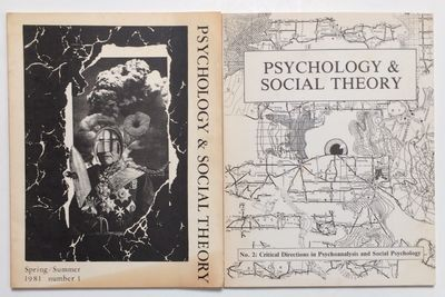 Ithaca: Psychology and Social Theory, 1981. First two issues of the journal combining critical theor...