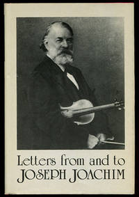 Letters from and to Joseph Joachim