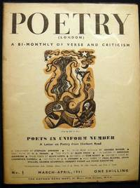 Poetry (London) A Bi-Monthly of Modern Verse and Criticism No. 5  March-April, 1941: Poets in Uniform Number
