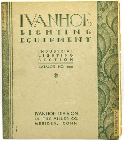 Miriden, Connecticut: Ivanhoe Division of the Miller Company, 1930. Stapled Pamphlet. Very Good bind...