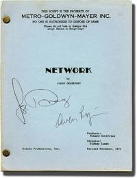 image of Network (Original screenplay for the 1976 film, signed by Faye Dunaway and Owen Roizman)