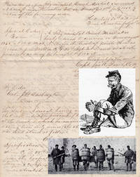Proceedings of a Court Martial of long-AWOL Confederate soldier that imposed punishment which would be considered cruel and unusual today