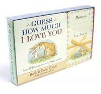 image of Guess How Much I Love You: Book & Baby Cards Milestone Moments Gift Set