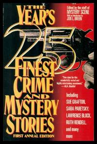 THE YEAR'S 25 FINEST CRIME AND MYSTERY STORIES - First Annual Collection
