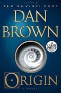 image of Origin: A Novel (Random House Large Print)