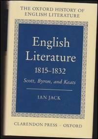 English literature 1815-1832 : Scott, Byron, and Keats