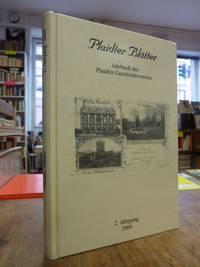 Plaidter Blätter - Jahrbuch des Plaidter Geschichtsvereins, 2. Jahrgang 2004,