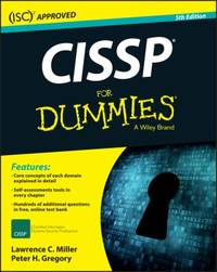 image of CISSP for Dummies
