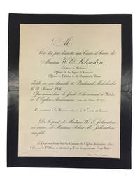 18 Letters and Other Documents from the 1870s and 1880s