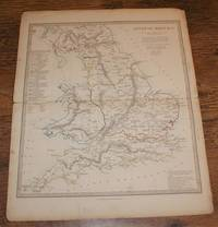 "Map of Ancient Britain - disbound sheet from 1857 ""University Atlas"