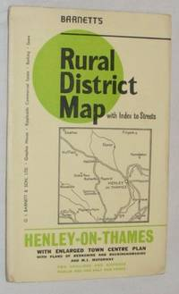 Barnett's Rural District Map with index to streets: Henley-on-Thames