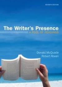 image of The Writer's Presence: A Pool of Readings