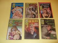 Avon Murder Mystery Monthly: The Metal Monster; Borrowed Time; The Finger Man ( Fingerman ); Love's Lovely Counterfeit; On the Spot; The Green Ice Murders - SIX Volumes -Book 41, 42, 43, 44, 45, 46