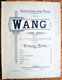 image of Siamese Wedding March. Selections for Piano from Wang Comic Opera
