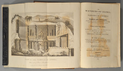 1825. SEELY, John B. THE WONDERS OF ELORA; OR, THE NARRATIVE OF A JOURNEY TO THE TEMPLES AND DWELLIN...