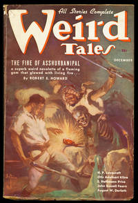The Fire of Asshurbanipal in Weird Tales December 1936
