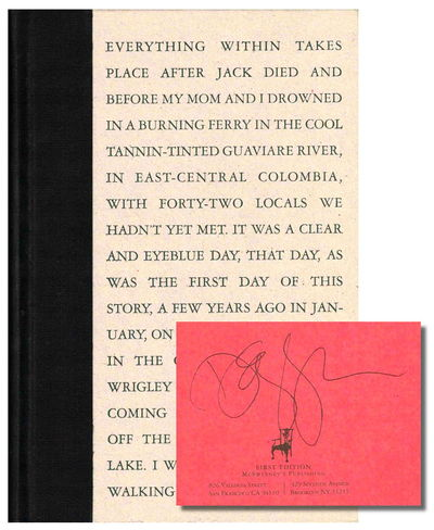 SF: McSweeney's , 2002. Hardcover. Very good. First Edition. Very good hardback bound in cloth backe...