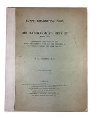 Archaeological Report 1903-1904: Comprising the Work of the Egypt Exploration Fund and the...