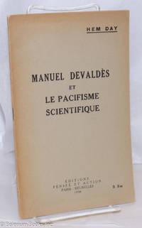 image of Manuel Devaldès et le pacifisme scientifique