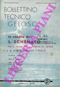 Bollettino tecnico Geloso.