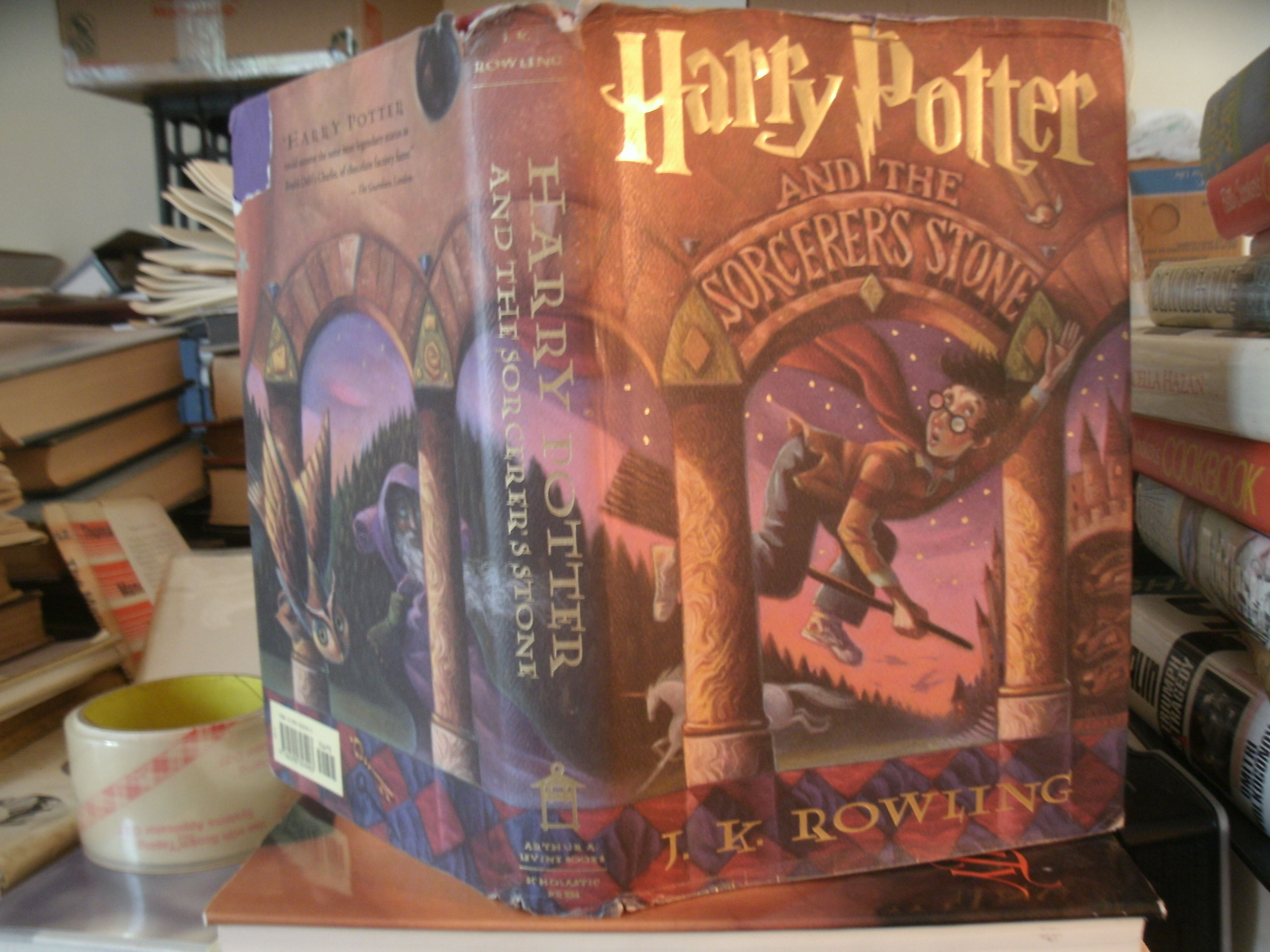 harry potter and the sorcerers stone first edition scholastic