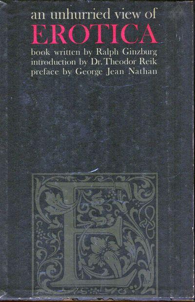 New York: Helmsman, 1958. First edition. Boards. Orig. embossed black boards. Fine in slightly worn ...