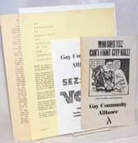 Gay Community Alliance collection of handbills and informational packets