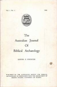 The Journal of Biblical Archaeology: Vol. 1 No. 1